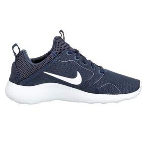 NIKE Baskets Kaishi 2.0 Chaussures Homme  Noir et blanc - Achat / Vente basket  - Soldes* dès le 27 juin ! Cdiscount