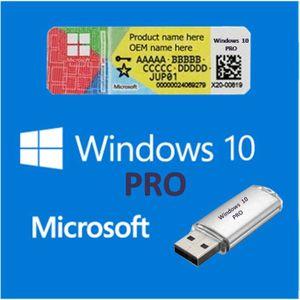 SYSTÈME D'EXPLOITATION WINDOWS 10 PRO COA + USB