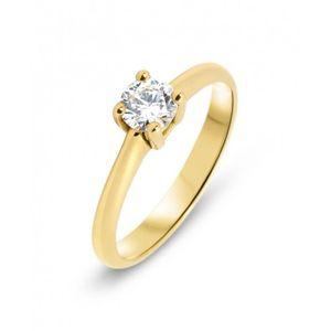 0d05abd2db0 Bague Or 750 Diamant ref 43366 Jaune - Achat   Vente bague - anneau ...