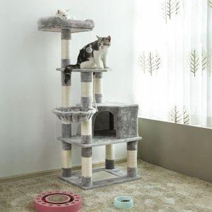 ARBRE À CHAT Songmics® Arbre à chat avec griffoir Multi niveaux