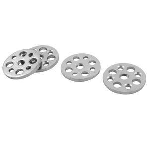 PIED DE MEUBLE Ronde en métal meubles Table Canapé Jambes Plaques