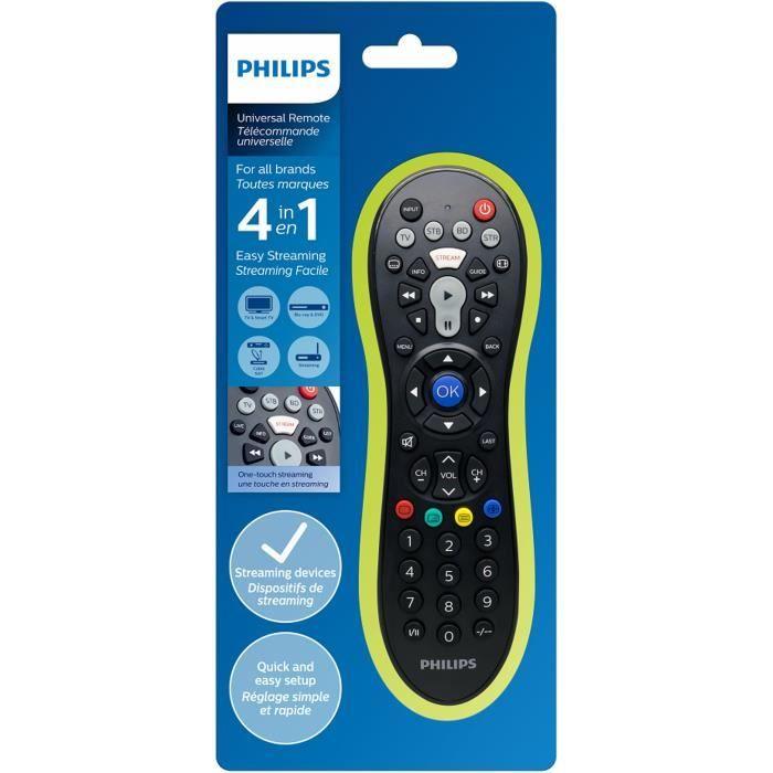 PHILIPS SRP3014 Télécommande universelle 4 en 1