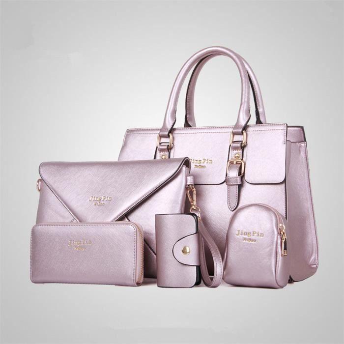 sac ydb054 Cuir à De rose main supérieure Femme arrivee femme femme Nouvelle main De Marque Luxe Sac marque de sac à qualité En rrBdqU