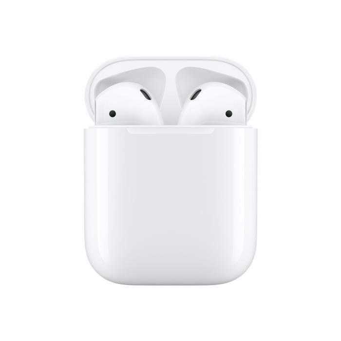 OREILLETTE BLUETOOTH Apple AirPods Écouteurs avec micro embout auricula