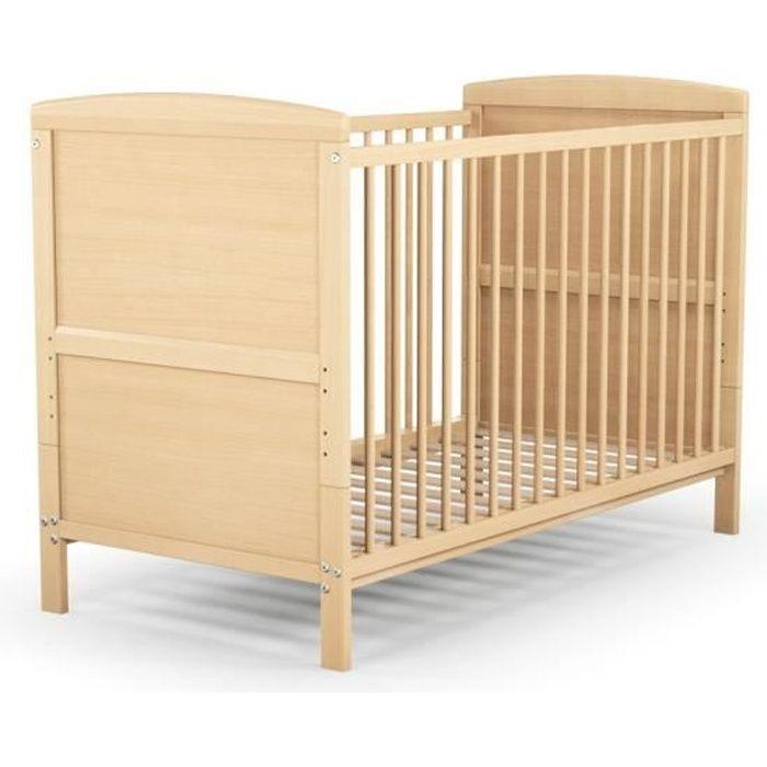 Lit bebe evolutif bois massif - Achat / Vente pas cher