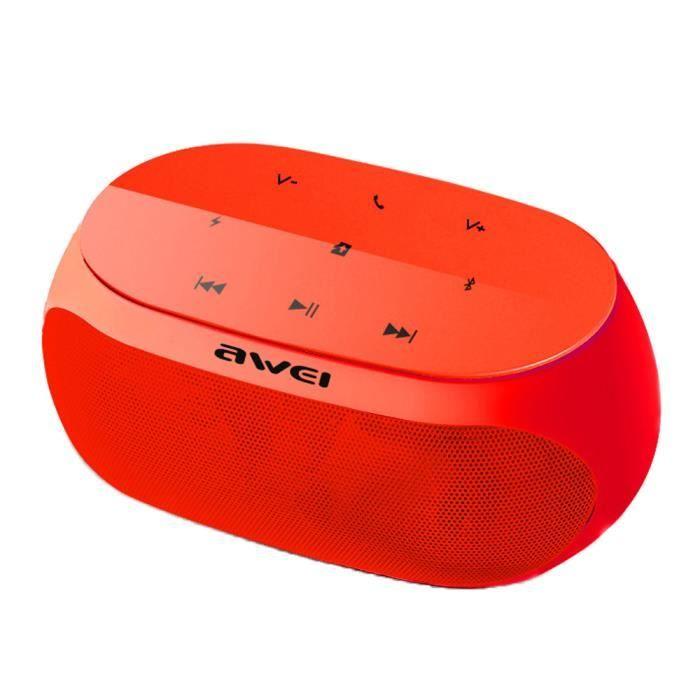 Bluetooth Enceinte D'extérieur Haut-parleur Stéréo Sans Fil Portable Améliorée Basse Rd
