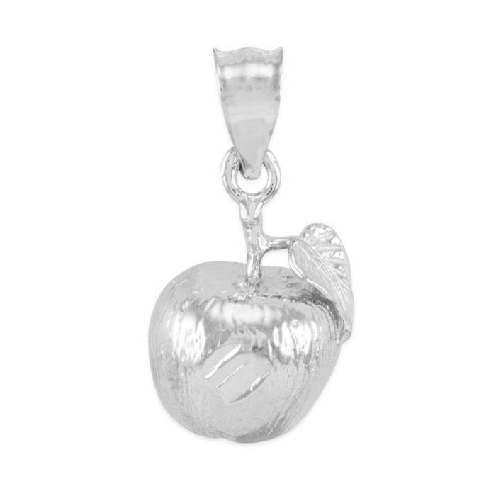 Pendentif 925 le charme de pomme Argent 925/1000