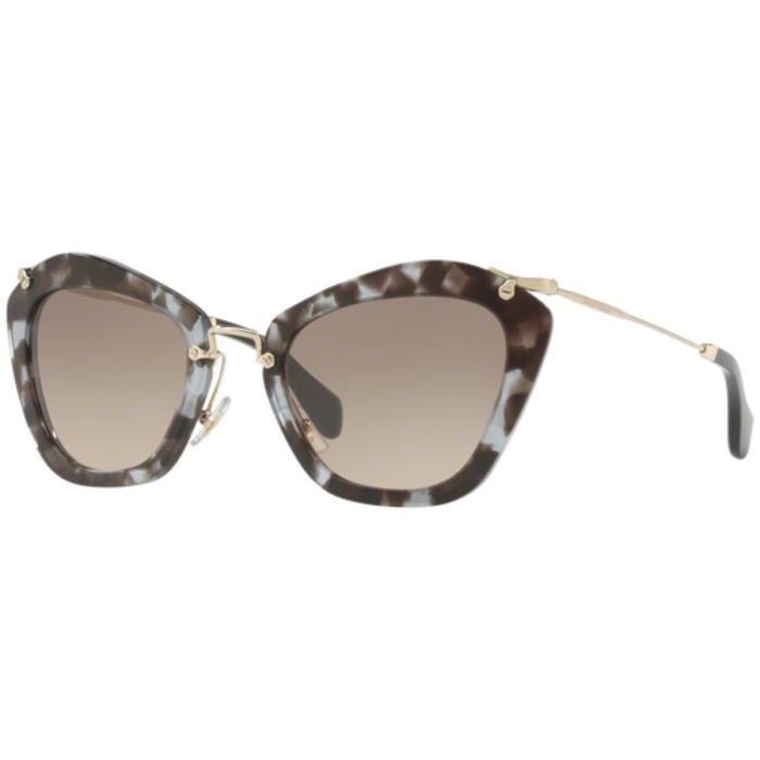 81656650aaa Lunettes de soleil Miu Miu LILAC HAVANA - Achat   Vente lunettes de ...