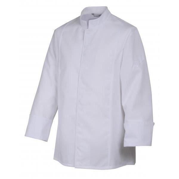 veste de cuisine siaka robur blanc achat vente veste professionnelle cdiscount. Black Bedroom Furniture Sets. Home Design Ideas