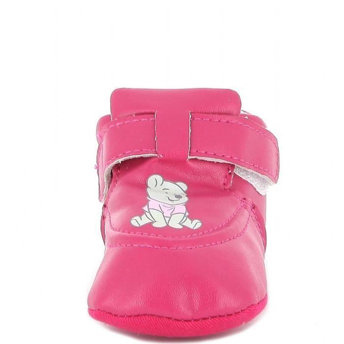 Winnie l'ourson - basket - bébé fille - fuschia