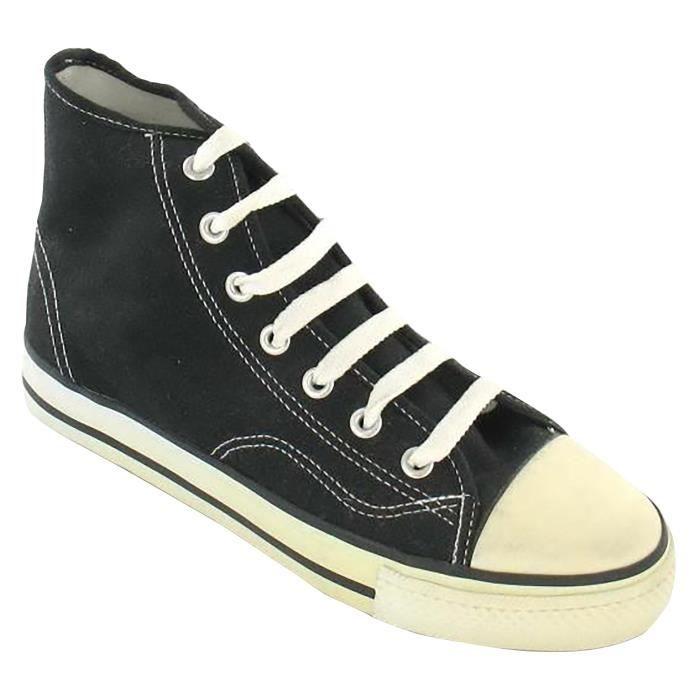 toile Chaussures Homme Spot hautes On en vw80fxIx1q