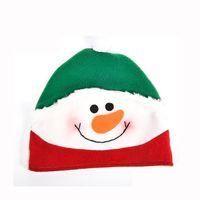 VILLAGE - MANÈGE Noël enfants chapeau bonhomme de neige décorations