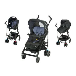 POUSSETTE  SAFETY 1ST Poussette Combinée Trio Easy Way Black