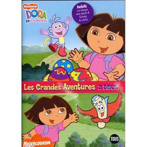 DVD DESSIN ANIMÉ COFFRET 2 DVD DORA L'EXPLORATRICE