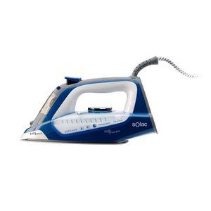 SOLAC S91864100 Fer vapeur Optima Power 2800 W - Bleu et Blanc