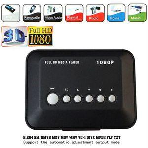 RÉCEPTEUR - DÉCODEUR   HD 1080P Disque dur USB Lecteur multimédia multi-m