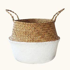 PANIER A LINGE Panier de rangement - Planter des pots de fleurs P