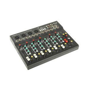 TABLE DE MIXAGE Table de mixage professionnelle à 7 canaux et proc