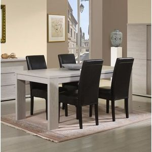 Table carree 140x140 achat vente table carree 140x140 for Table salle a manger 140 cm