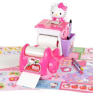 JEU DE STICKERS Machine à cartes et autocollants Hello Kitty