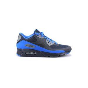 BASKET Basket Nike Air Max 90 Ultra Essential Bleu 819474