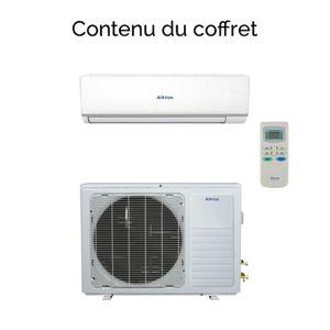CLIMATISEUR Airton climatiseur réversible mono-split DC invert