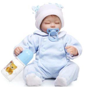 POUPÉE 40 cm NPK Reborn Bébé Poupées En belle Poupée Rebo