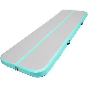 tempsa 6m gonflable tapis gymnastique air piste tumbling vert prix pas cher cdiscount. Black Bedroom Furniture Sets. Home Design Ideas