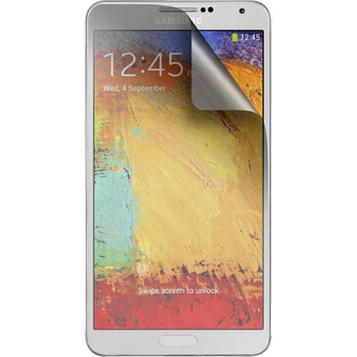 BIGBEN Lot 2 protèges-écran One Touch pour Samsung Galaxy Note 3 N9000 - Transparent