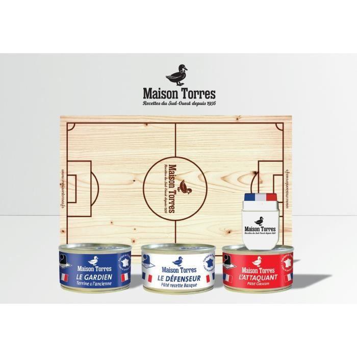 TORRES Le Terrain des Saveurs Planche apéro supporters - football