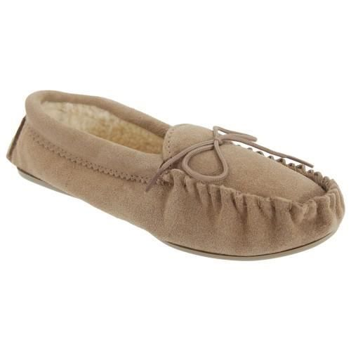 Mokkers Kirsty - Chaussons style mocassin en cuir suédé - Fille 8YwVTi