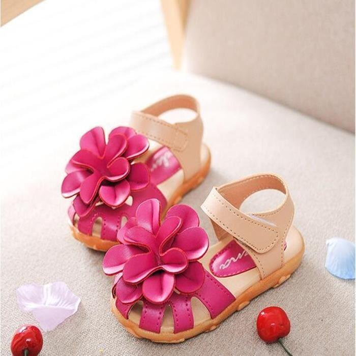 Sandales de grande fleur nouveau 2016 été enfan... Gzxlfyzu
