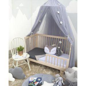 rideau lit baldaquin achat vente rideau lit baldaquin pas cher cdiscount. Black Bedroom Furniture Sets. Home Design Ideas