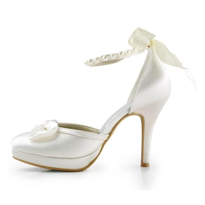 Jia Jia Wedding 3704A chaussures de mariée mariage Escarpins pour femme