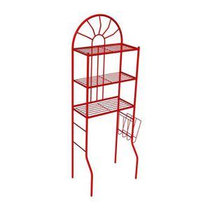 COLONNE - ARMOIRE WC MSK 25 Pont wc métallique rouge Ral 3020