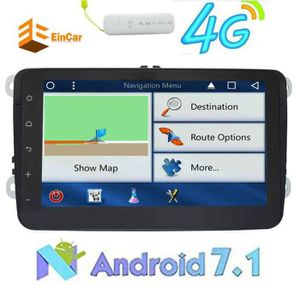 AUTORADIO Gratuit Android 7.1 Dongle 4g Car Stereo 2 Din H