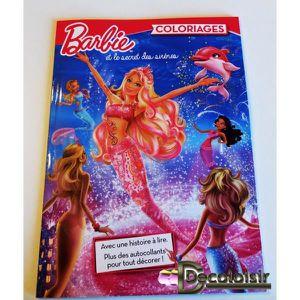 Coloriage barbie achat vente pas cher - Barbie et le secret des sirenes 1 ...