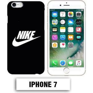 COQUE - BUMPER Coque iphone 7 logo Nike noir