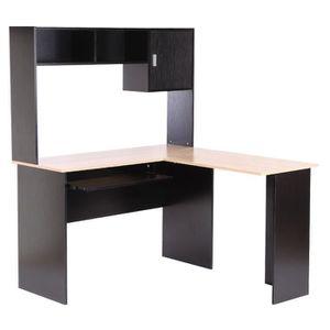 bureau informatique d 39 angle achat vente pas cher cdiscount. Black Bedroom Furniture Sets. Home Design Ideas