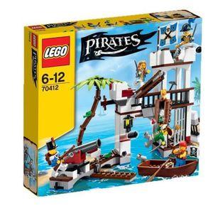ASSEMBLAGE CONSTRUCTION LEGO Pirates 70412 Le Fort des Soldats