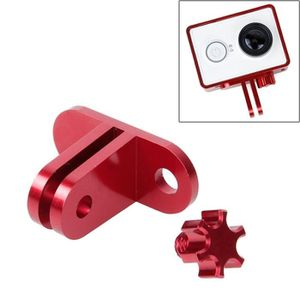 PACK ACCESS. CAMESCOPE Pour Xiaomi Yi Sport Camera rouge Support de casqu