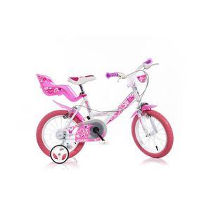 VÉLO ENFANT Velç Enfant Fille 14 Pouces Dino Bikes Winx avec P