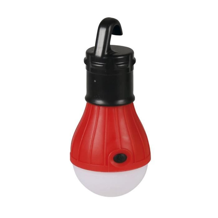 EXPERT LINE Lampe de camping 3 LED rouge