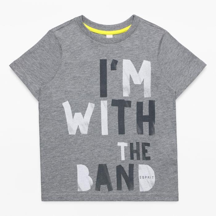 ESPRIT T-shirt Gris Enfant Garçon