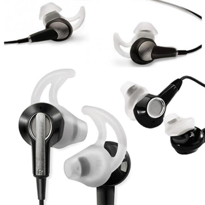 3 paire s m l earbuds conseils pour bose in ear casque calme confort qc20 qc20i casque. Black Bedroom Furniture Sets. Home Design Ideas