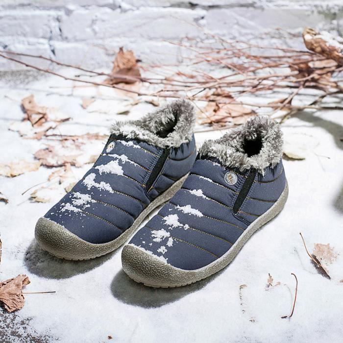 Haut De laine Anti de Hiver Plus Homme doublure Chaussures Glissement courte Qualité Sport Peluche De Basket en Chaussures Ax5Z0qz5