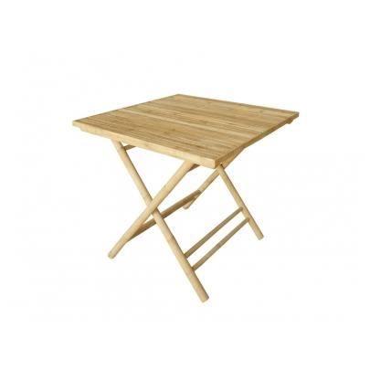 Table à manger ROBINSON en bambou - Achat / Vente table de jardin ...