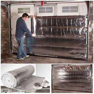 Isolation porte de garage achat vente pas cher for Porte de garage isolation thermique