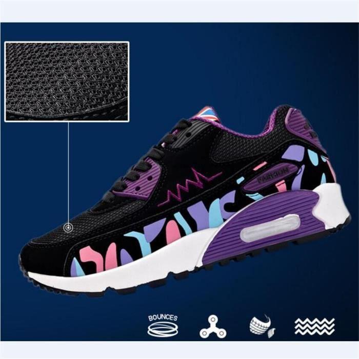 Chaussure femme Antidérapant Durable de sport Sneakers De Marque De Luxe Nouvelle Mode 2017 ete Baskets femmes Grande Taille 35