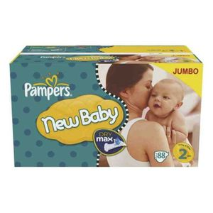 Pampers New baby Taille 2 - 88 couches - Format Jumbo Pack